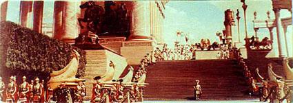 Dos escenas espectaculares del poderío de Roma
