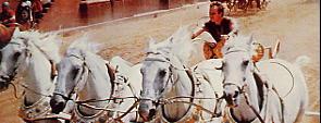 Ben Hur en la carrera