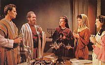 Judah Ben Hur, con su familia