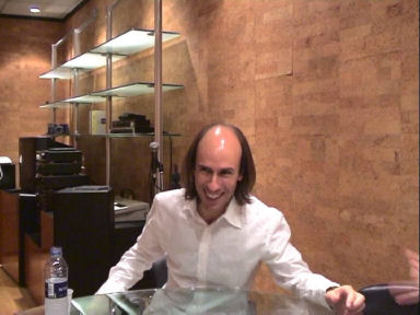 Carlos Núñez en nuestra entrevista