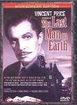 Carátula de la edición en DVD de 'The Last Man on Earth'