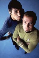 Spock y Kirk, universales