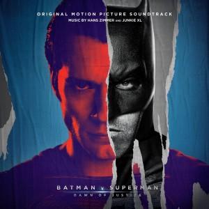 Batman v Superman- Dawn Of Justice - CD cover grande