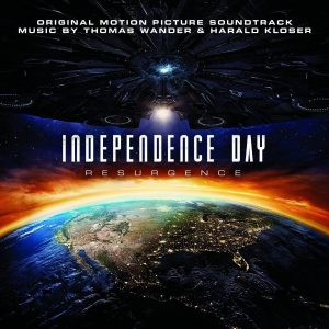 Independence Day- Resurgence - CD cover grande